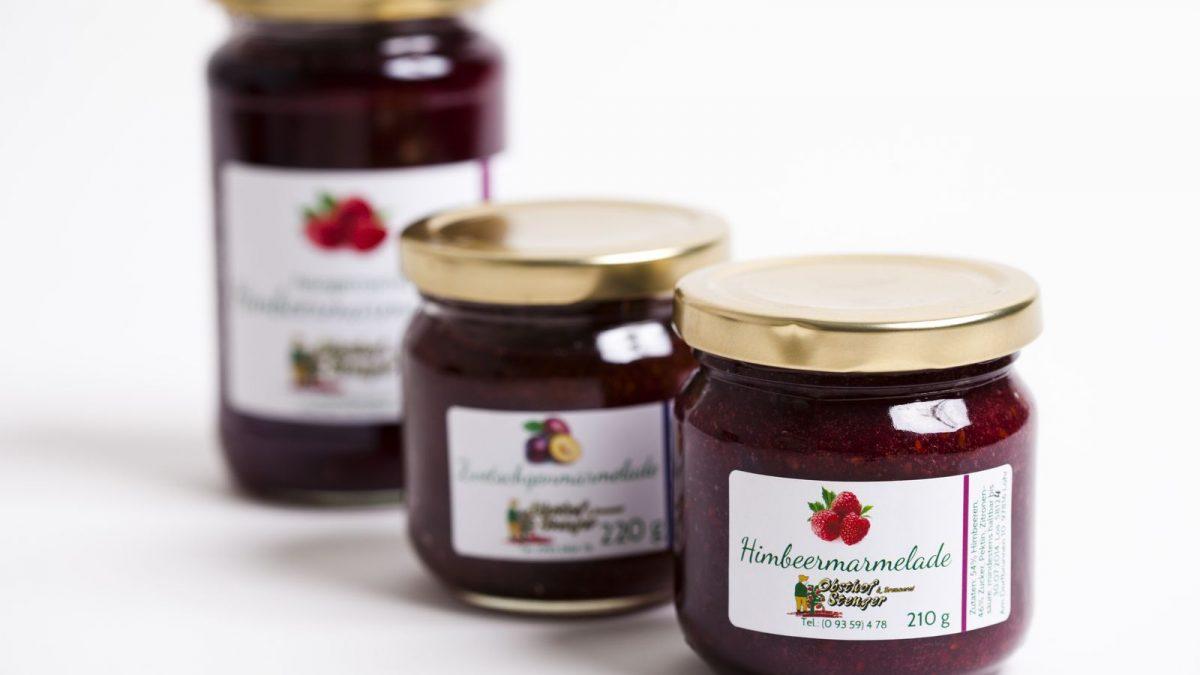 <b>persönliche Etiketten für Marmelade</b> Konfitürenverordnung