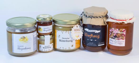 Honig Etiketten