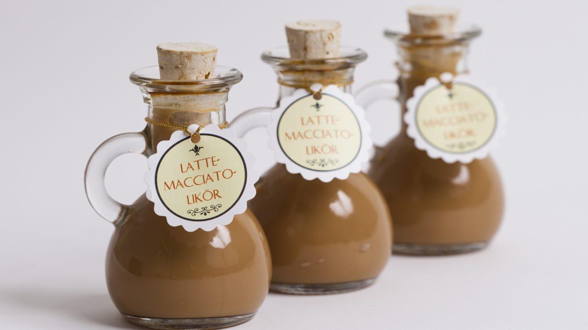 <b>Latte-Macchiato Likör</b> zum selber machen