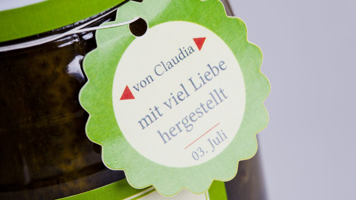 <b>bedruckte Hangtag Anhänge Etiketten</b> in großer Auswahl