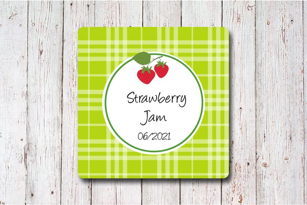 Erdbeer-Etiketten-50-x-50-mm-online-gestalten-bei-watsonlabel