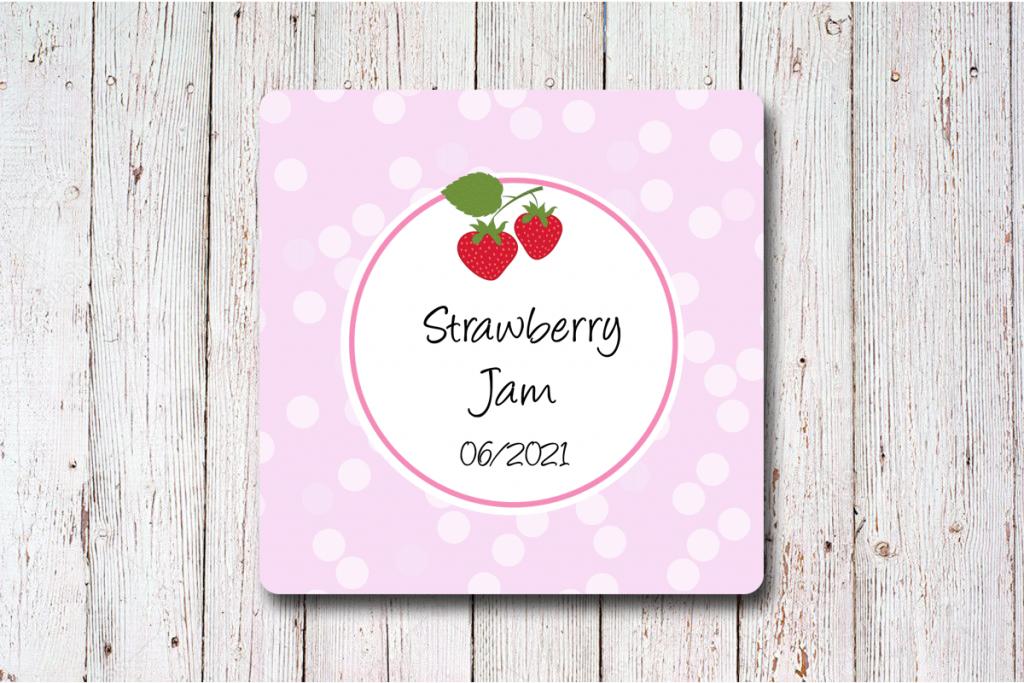 Erdbeer-Etiketten-50-x-50-mm-rosa-online-gestalten-bei-watsonlabel