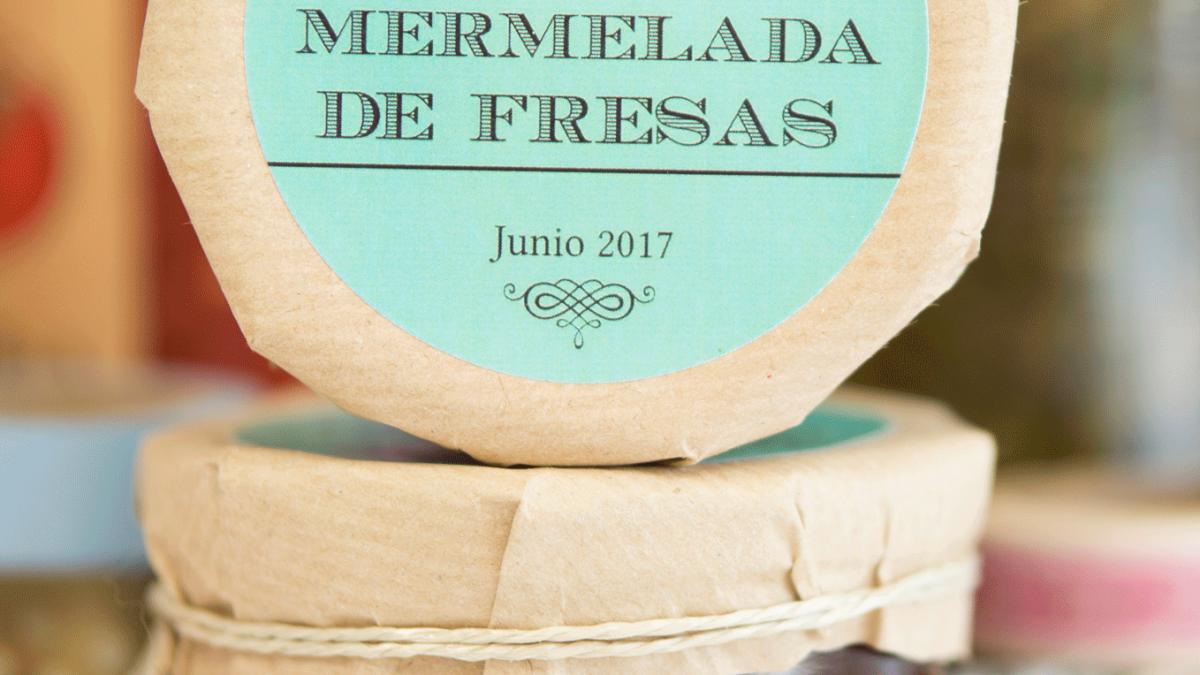 Erdbeer Etiketten selbst gestalten