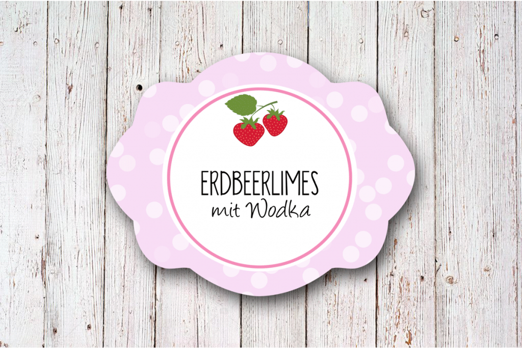 personalisierte-Erdbeer-Limes-Etiketten-oval-60-x-47-mm-rosa