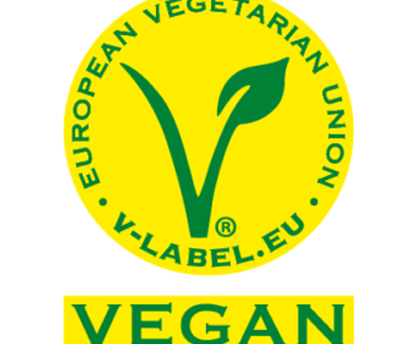 Vegane Etiketten für Kosmetik und Lebensmittel
